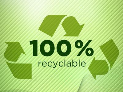 Lalunet' est 100 % recyclable !